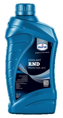 EUROL Antifriz Sarı -36°C RND (E504012-1L) resmi