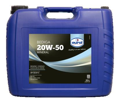 EUROL Bediga 20W50  mineral bazlı  Motor Yağı  (E100045-20L) resmi