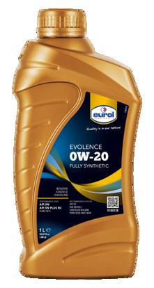EUROL 0W20 Tam Sentetik Motor Yağı Evolence  (E100128-1L) resmi