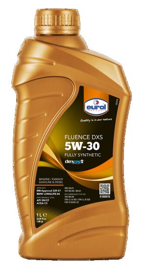 5W30 Tam Sentetik Motor Yağı Fluence DXS -Dexos2