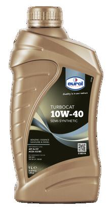 EUROL 10W40 Yarı Sentetik Motor Yağı TurboCat (E100114-4L) resmi